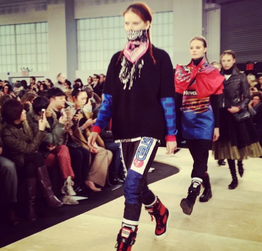 @susiebubble: OMG. Motocross ski dirt bike hybrid just happened at Marc by @marcjacobsintl !!!!