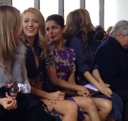 @bryanboycom: Blake Lively five feet across me at Michael Kors Fall 2014 show